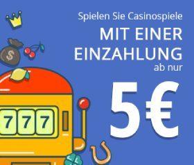 casino 5 euro mindesteinzahlung
