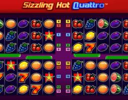 Sizzling Hot Quattro kostenlos spielen