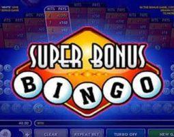 Super bonus bingo Online Kostenlos Spielen