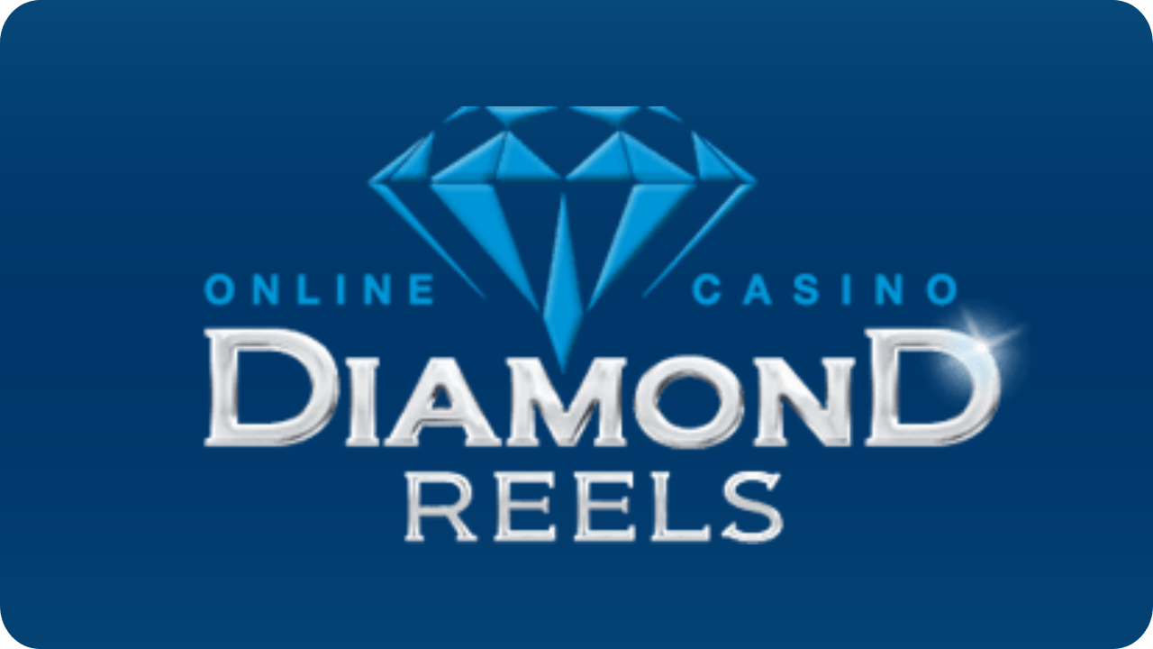diamond reels casino logo