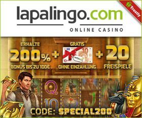 Special200 - 200% up to 100€ + 10€ ndb